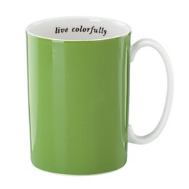 live colorfully emerald mug