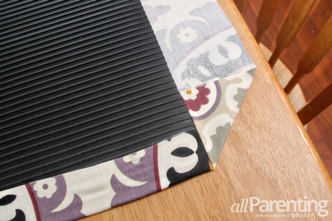 fabric rug step 7