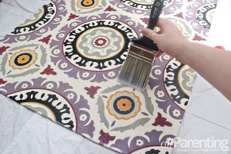 fabric rug step 8