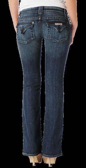 Backside enhancing jeans