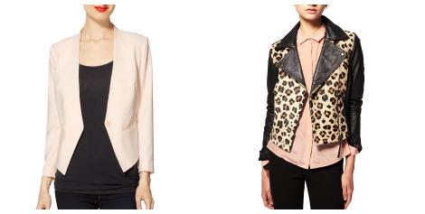 Jessica Simpson maternity style blazers