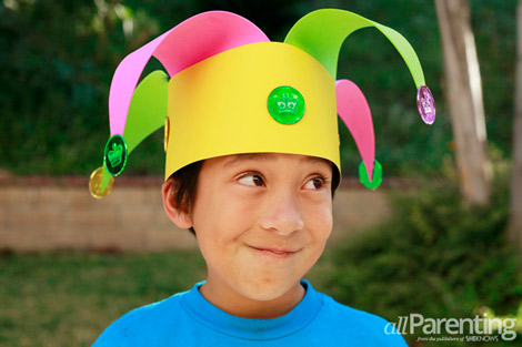 4 mardi gras crafts for kids for Craft hats for kids