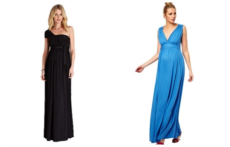 KIM KARDASHIAN maternity maxi dresses
