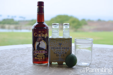 Dark n Stormy Rum cocktails ingredients