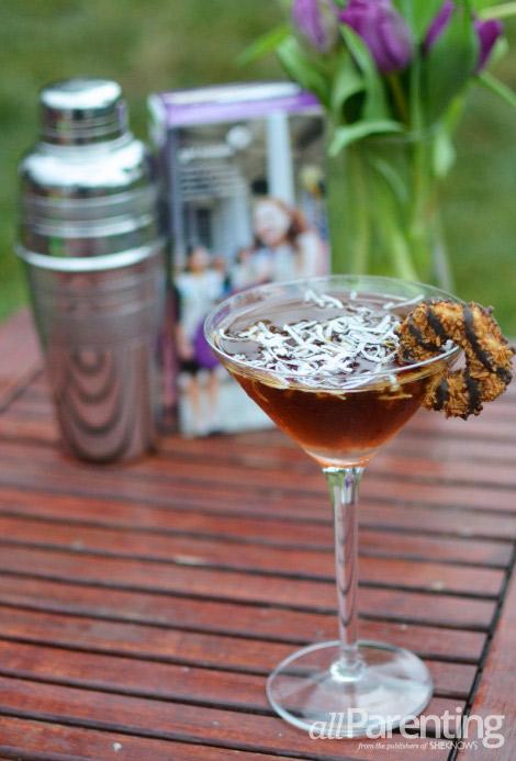Sassy Samoas martini
