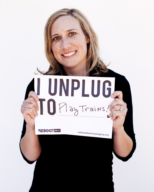 Tonya Schevitz National unplug day