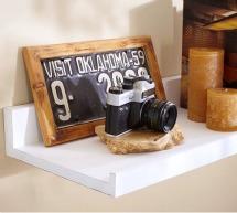 Pottery Barn Wide Display Shelf