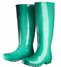 Target green rainboots aP steal