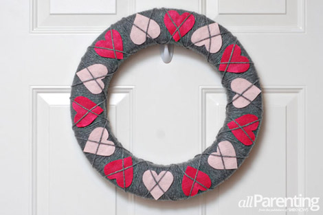 argyle wreath step 9