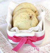Chocolate & caramel sugar cookie