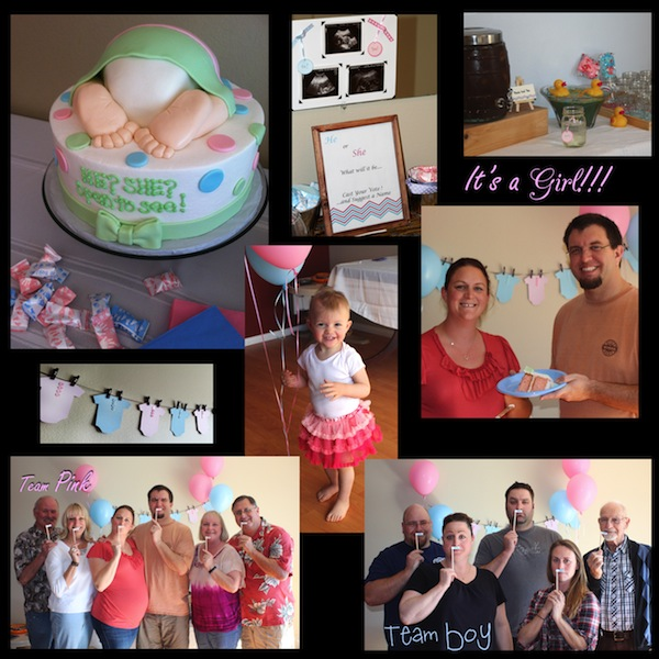 Elizabeth gender reveal party
