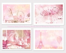 Pink Paris print
