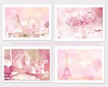 Pink Paris print