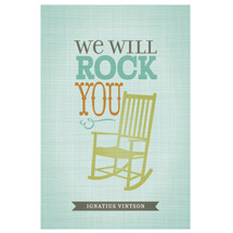 We will rock you print