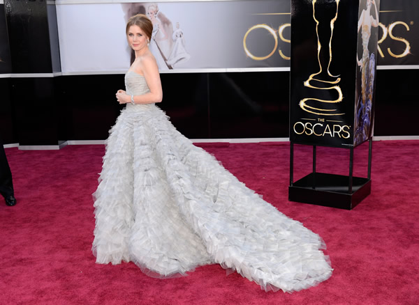 Amy Adams at the 2013 Oscars