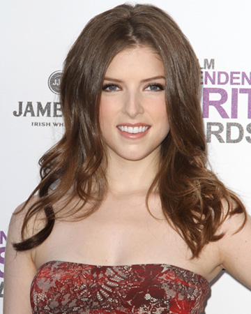 Anna Kendrick smiling