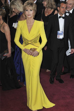 Jane Fond at the 2013 Oscars