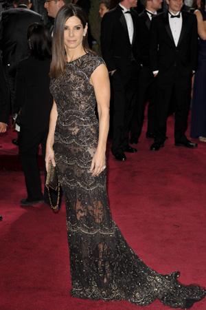 Sandra Bullock at the 2013 Oscars