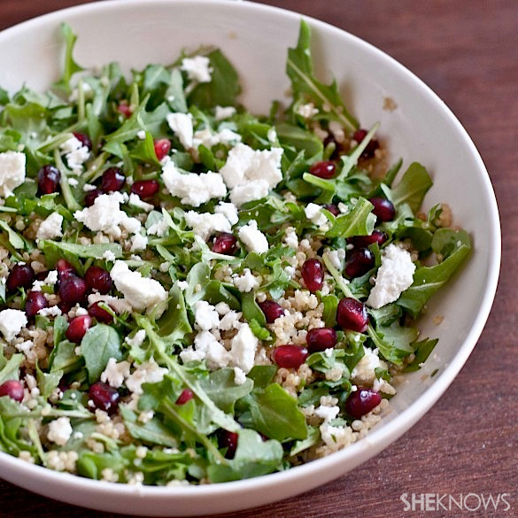 arugula and quinoa salad