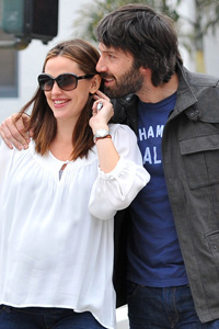 Jennifer Garner and Ben Affleck out and about in Los Angeles.