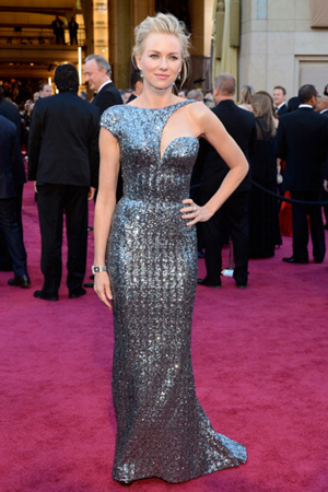 Naomi Watts at the 2013 Oscars