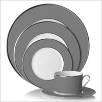 Studio Gray and White Dish Set, $39.99