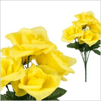 Large Yellow Roses, $4.95