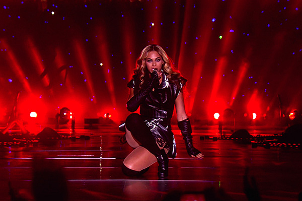 Beyonce's naughty and nice Super Bowl sizzle