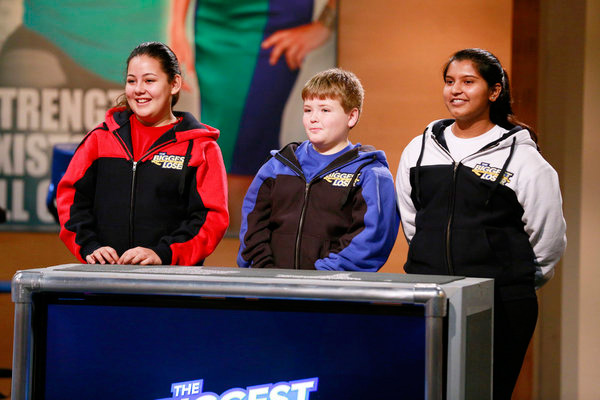 Kids competing on The Biggest Loser
