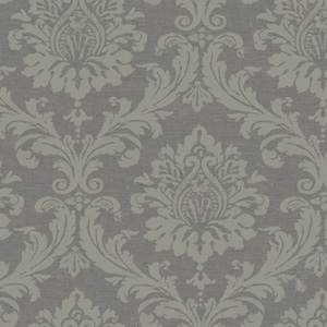 Grey Medallion wallpaper at Designyourwall.com, $112.
