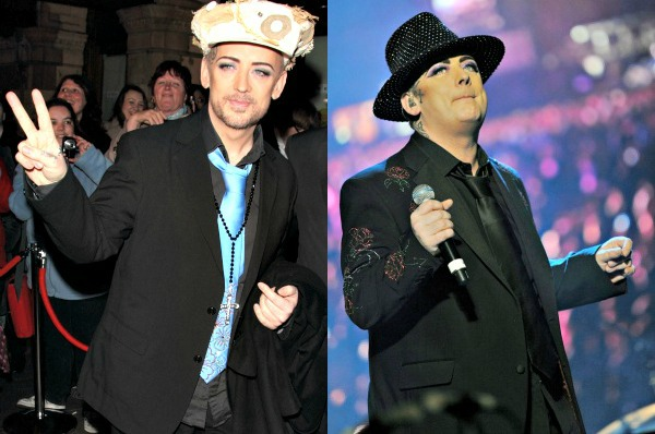 boy george weight loss pics