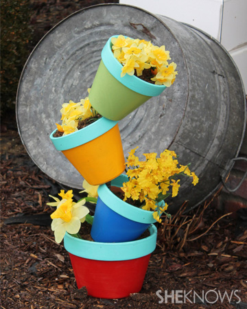 Stackable pots