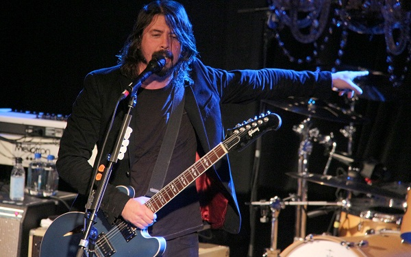 Dave Grohl on Chelsea Lately