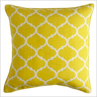 Cabana geometric pillow