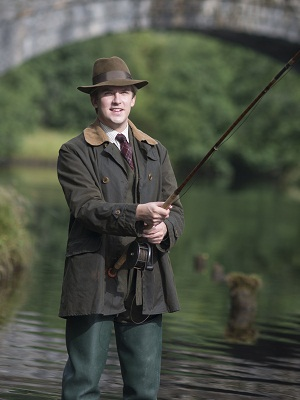 Downton Abbey finale Matthew fishing