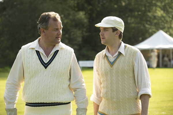Downton Abbey's Matthew and Lord Grandtham