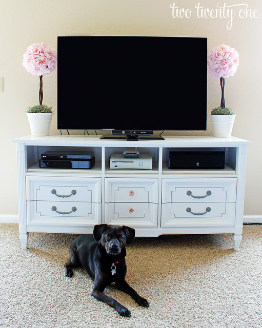 two twenty one tv stand