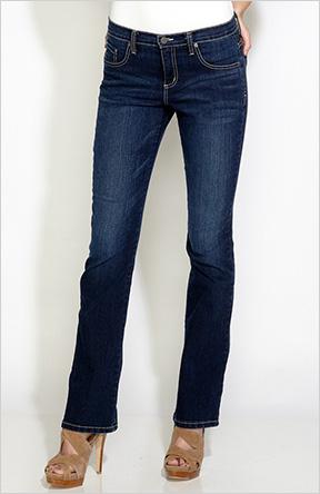 Karen Kane Whisker Flare Jeans