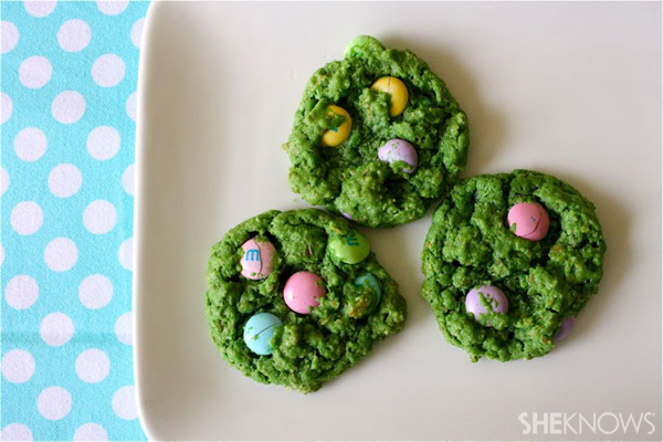 Easter hunt cookies