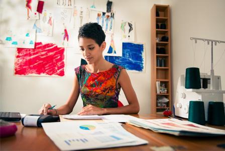 Fashion designer going over budget
