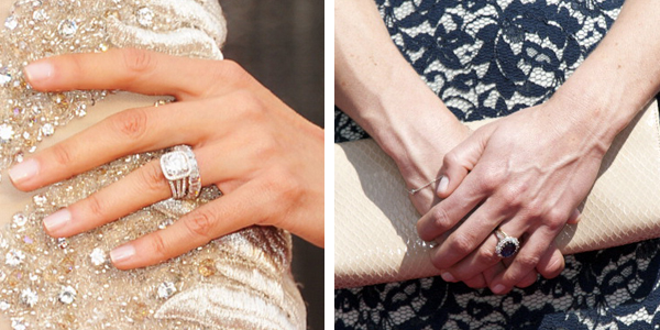 Fashion face-off: Celebrities' wedding rings Giuliana Rancic Engagement Ring