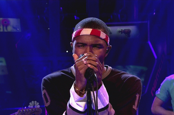 Frank Ocean on SNL