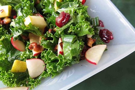 your usual salad gets a nutritious update