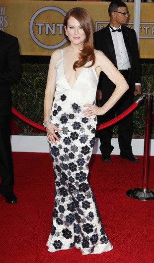 Julianne Moore at the SAG awards