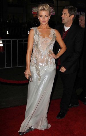 Julianne Hough at the Hollywood premiere of her new movie Safe Haven