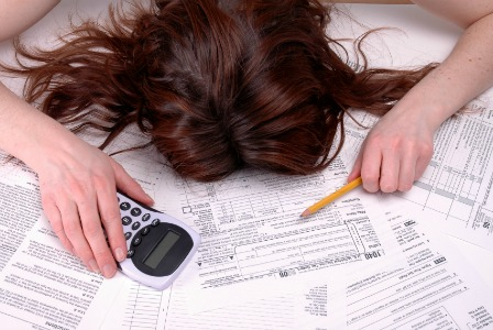 Frustrated by taxes