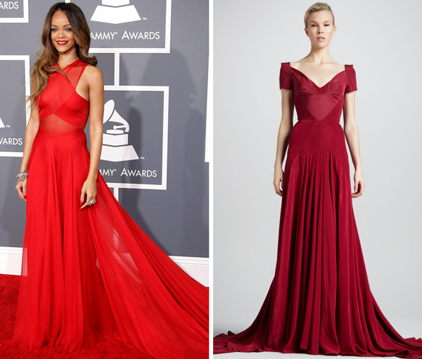 Red Azzedine Alaia Dress similar sophisticated red