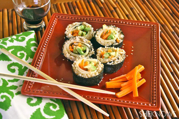 Sandwich-style Sushi