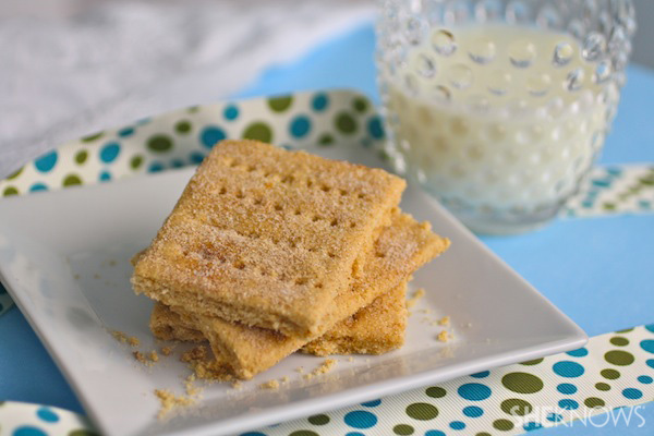 Gluten-free Cinnamon Graham Crackers