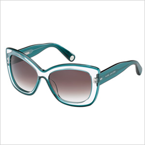 Emerald Sunglasses by Marc Jacobs
